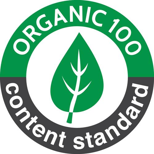 Organic Content Standard 100 Logo