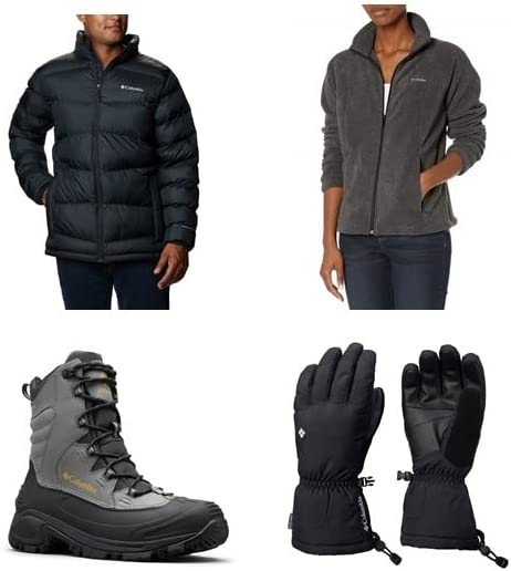 Up to 30% off Columbia Apparel and Shoes
