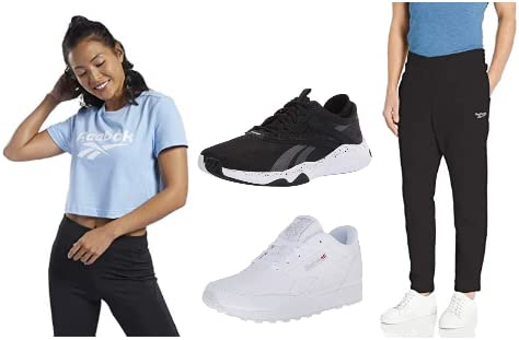 Save up to 30% on select styles from Reebok apparel and shoes