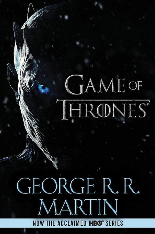 The cover of A Game of Thrones by George R. R. Martin. Click for more details.