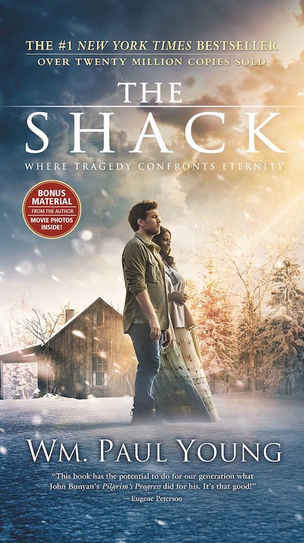 The cover of The Shack by William P. Young. Click for more details.