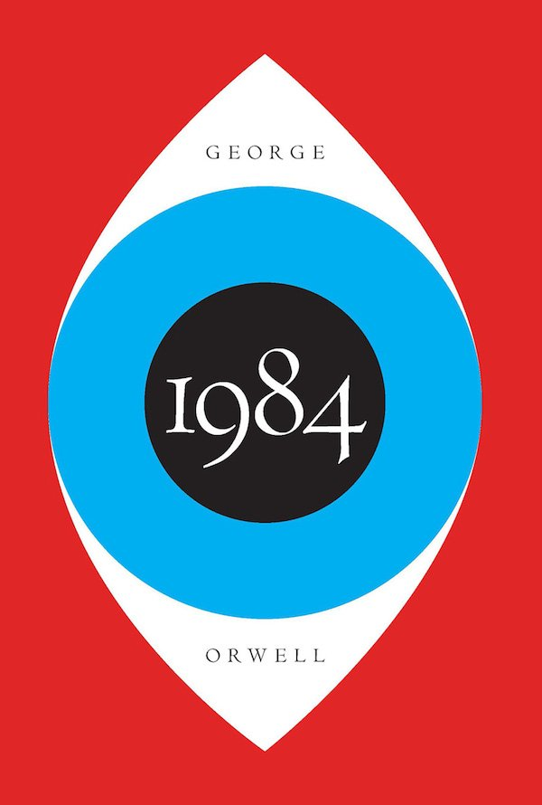 The cover of 1984 by George Orwell. Click for more details.