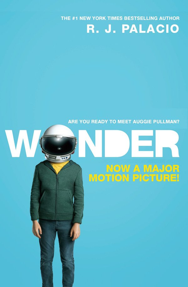 The cover of Wonder by R. J. Palacio. Click for more details.