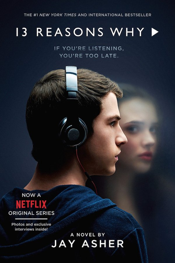 The cover of Thirteen Reasons Why by Jay Asher. Click for more details.