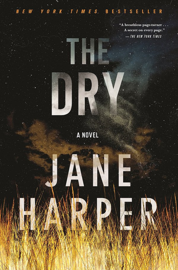 The cover of The Dry: A Novel by Jane Harper. Click for more details.