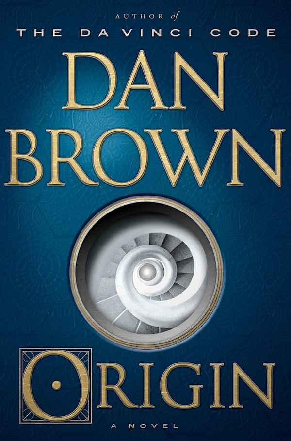 The cover of Origin: A Novel by Dan Brown. Click for more details.