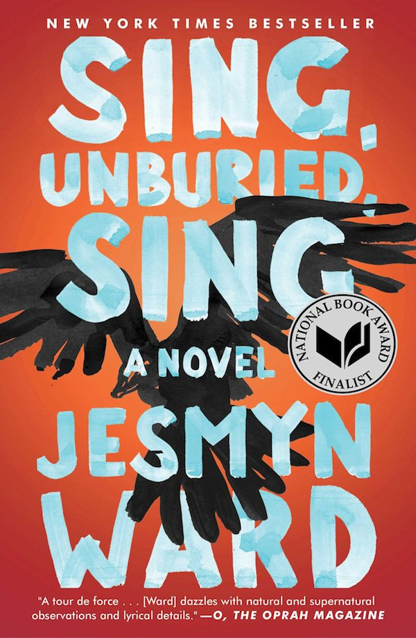 The cover of Sing, Unburied, Sing: A Novel by Jesmyn Ward. Click for more details.