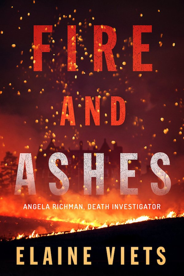 The cover of Fire and Ashes by Elaine Viets. Click for more details.