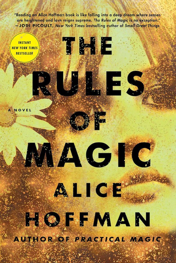 The cover of The Rules of Magic: A Novel by Alice Hoffman. Click for more details.