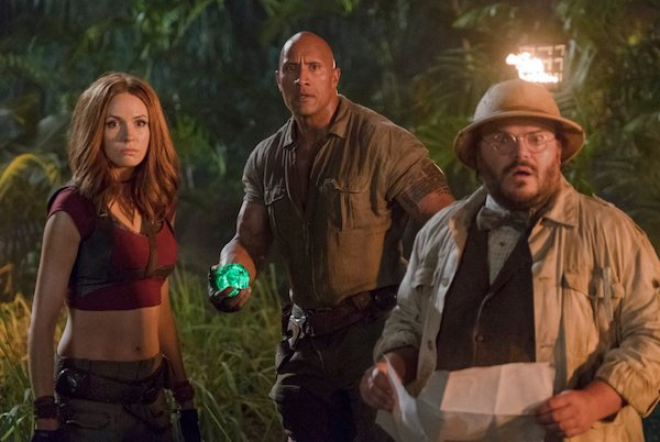 A picture of a scene from the movie Jumanji: Welcome to the Jungle.