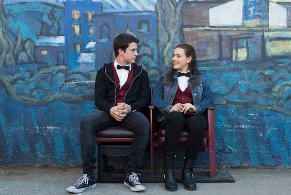 A picture from a scene in the Thirteen Reasons Why miniseries