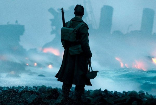 A picture from a scene in the Dunkirk movie.