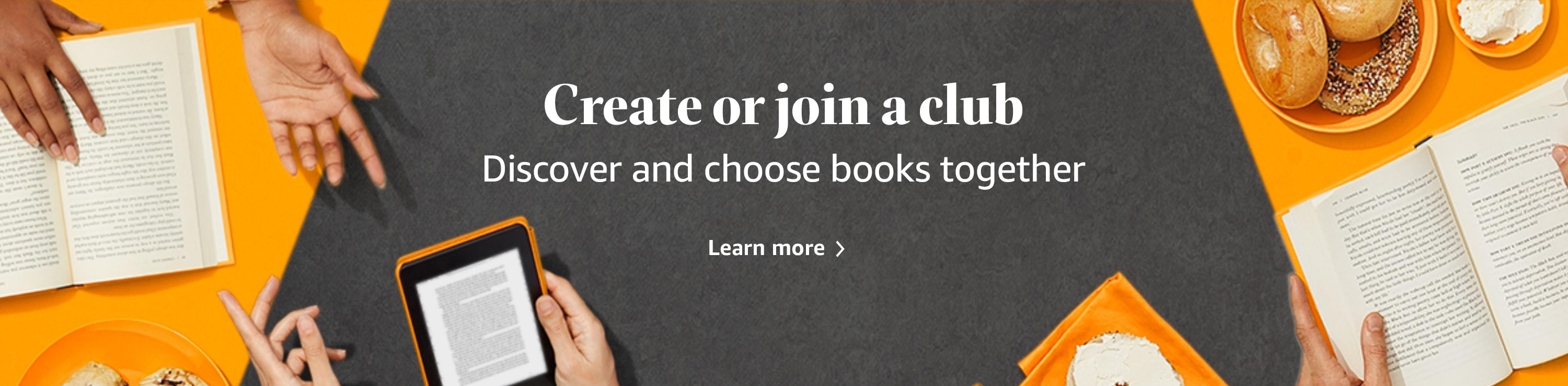 About Amazon Book Clubs