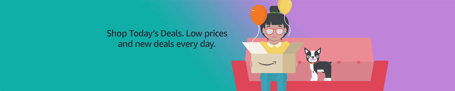 5761b8838f930 Shop Today's Deals. Low prices and new deals every day.