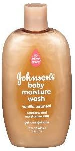 JOHNSON'S baby moisture wash with vanilla oatmeal