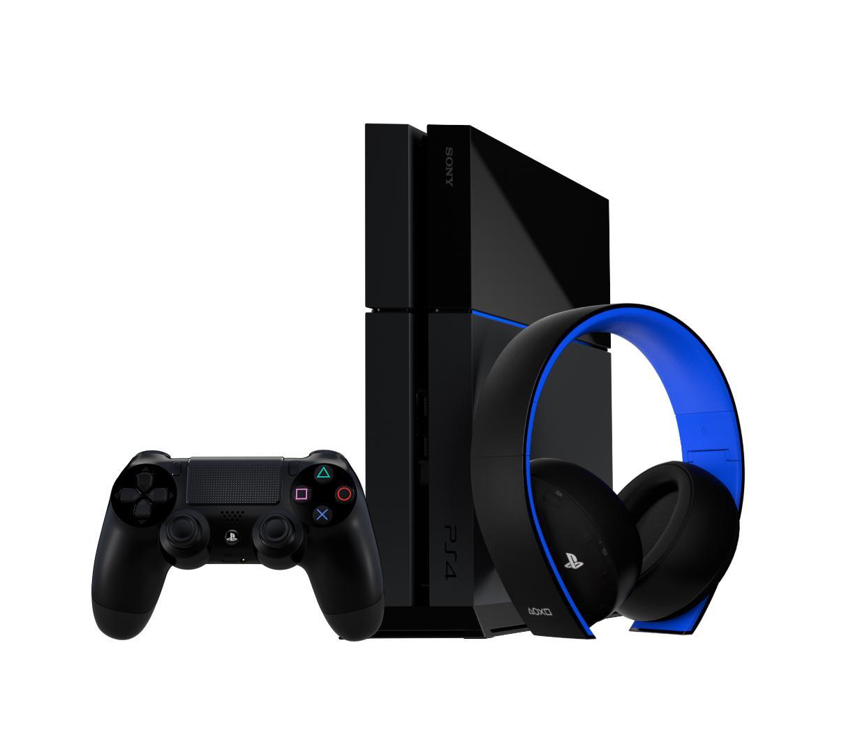 Amazon.com: PlayStation Gold Wireless Stereo Headset - Jet