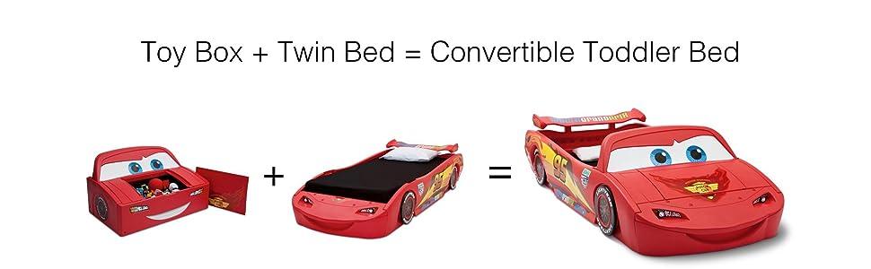 Amazon Com Delta Children Cars Lightning Mcqueen Toddler