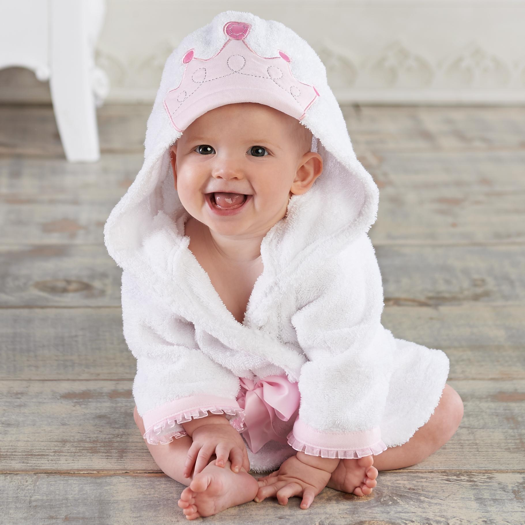 82e916174 Amazon.com   Baby Aspen Baby s Bath Time Bunny Hooded Spa Robe