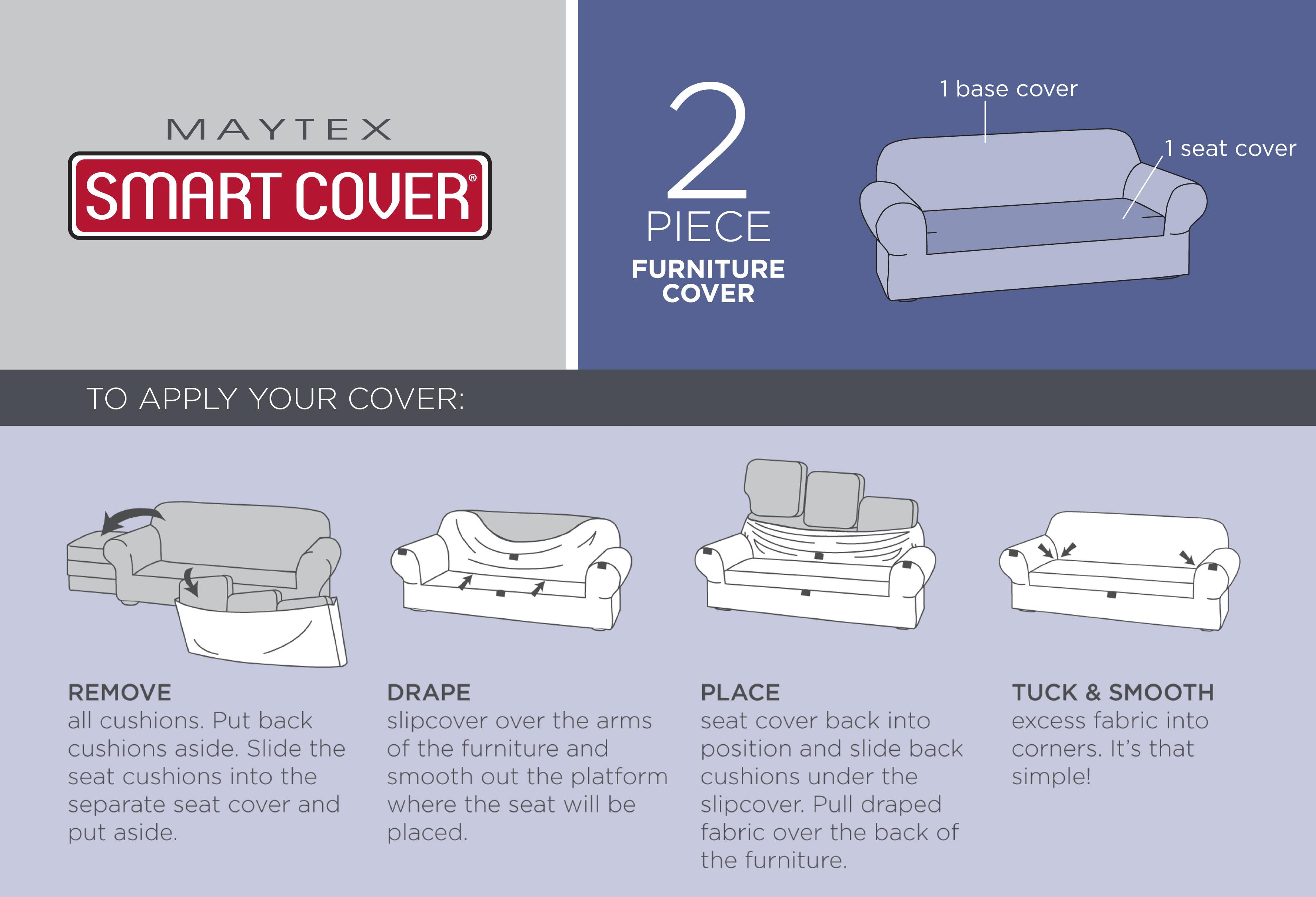 Two Piece Sofa Slipcover Images Home