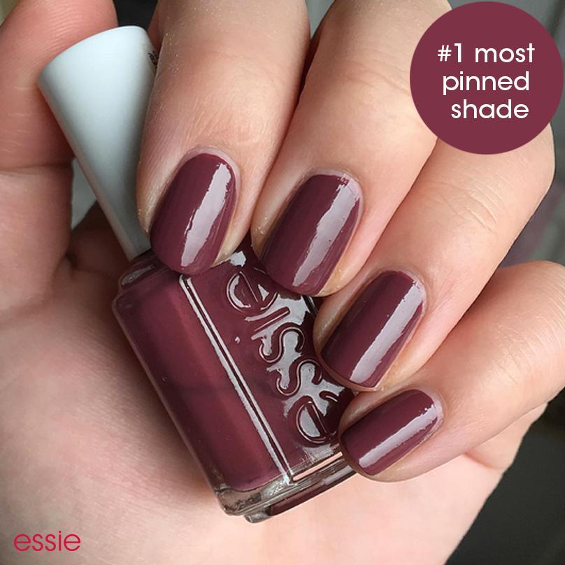 Amazon.com : essie nail polish, bordeaux, deep red wine nail polish ...