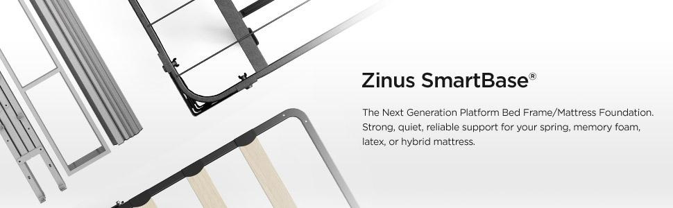 Amazon Com Zinus 18 Inch Premium Smartbase Mattress