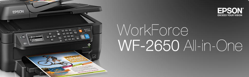 WorkForce WF-2650f Lifestyle Image