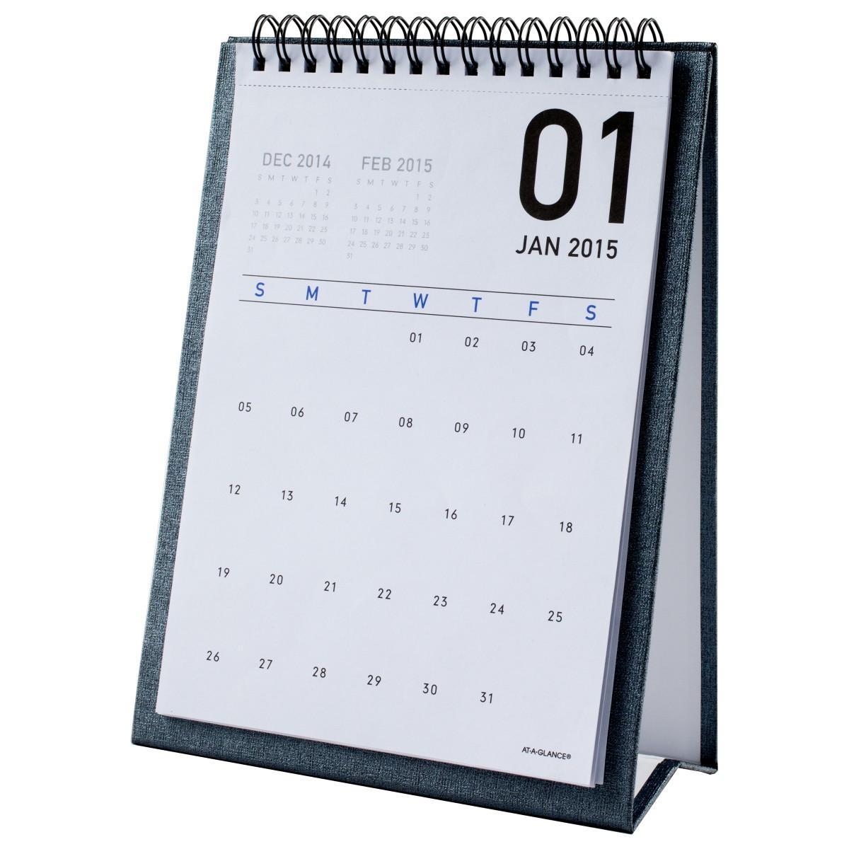 Desktop Easel Easel Calendar Standing Calendar Monthly Calendar Monthly Desk Calendar  sc 1 st  Amazon.com & Amazon.com : AT-A-GLANCE Monthly Desktop Easel Calendar 2016 5.25 ...