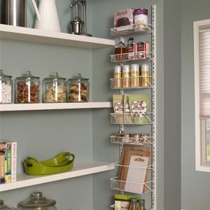 Wall Rack, Door Rack, Adjustable Rack, Storage, Organization, Closetmaid,  Kitchen
