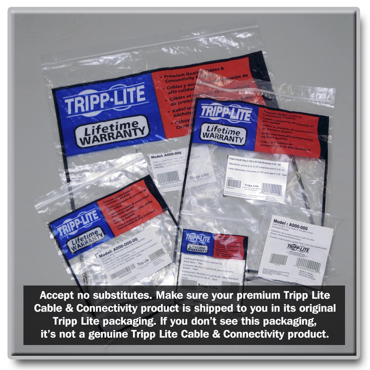 Amazon.com: Tripp Lite Heavy Duty Computer Power Cord, 15A, 14AWG ...