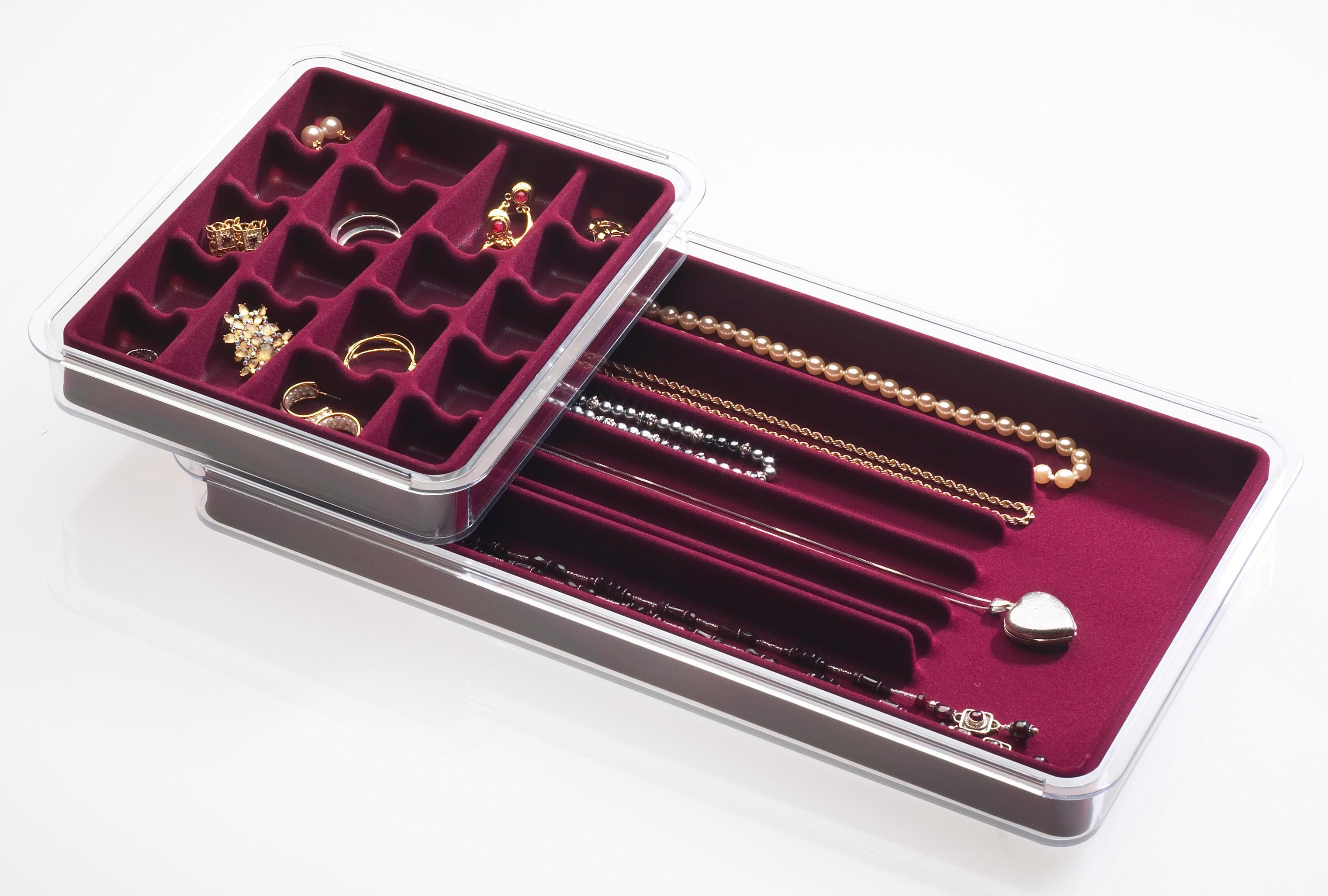Amazon Com Neatnix 36 Stax Jewelry Compartment Organizer
