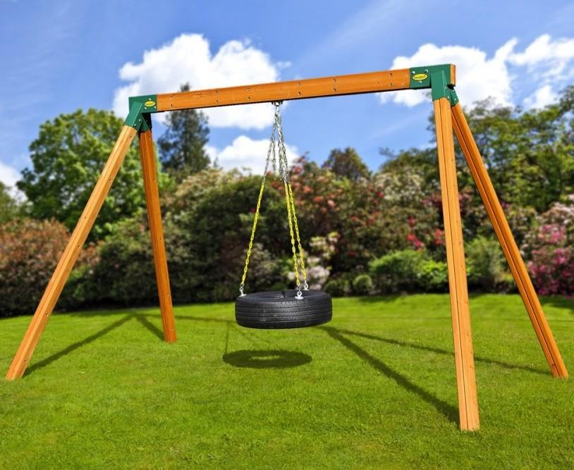 how to build an aframe for a swing