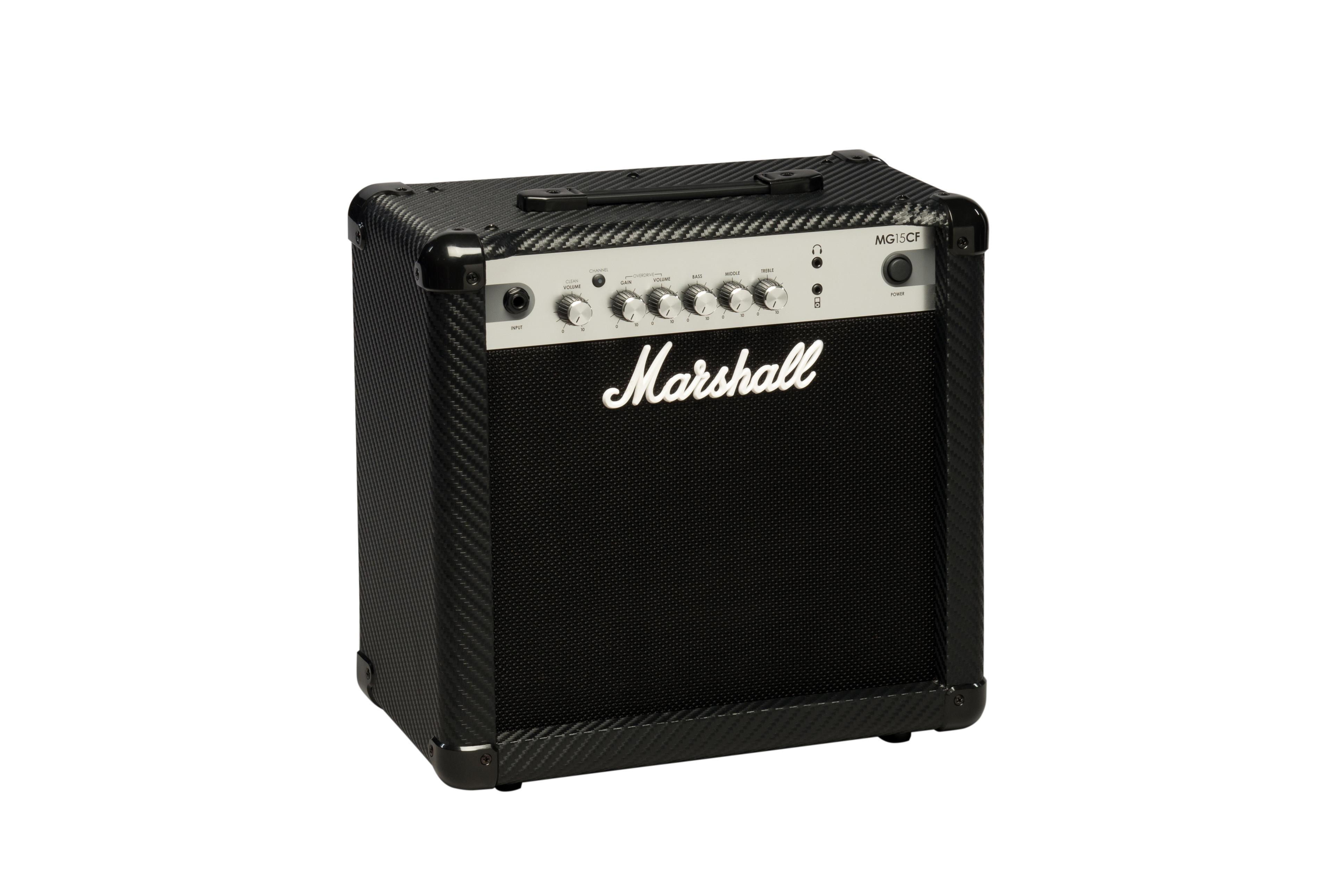 marshall mg15cf mg series 15 watt guitar combo amp musical instruments. Black Bedroom Furniture Sets. Home Design Ideas