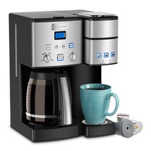 Cuisinart SS-15 Coffee Center 12 Cup Carafe and Single Serve Coffeemaker