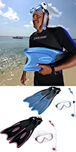 snorkel and mask, snorkel gear, snorkel jacket, prescription snorkel mask,