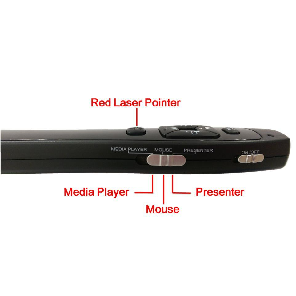 Pointer/Wireless Mouse and Media Player Control (LR8) : Electronics