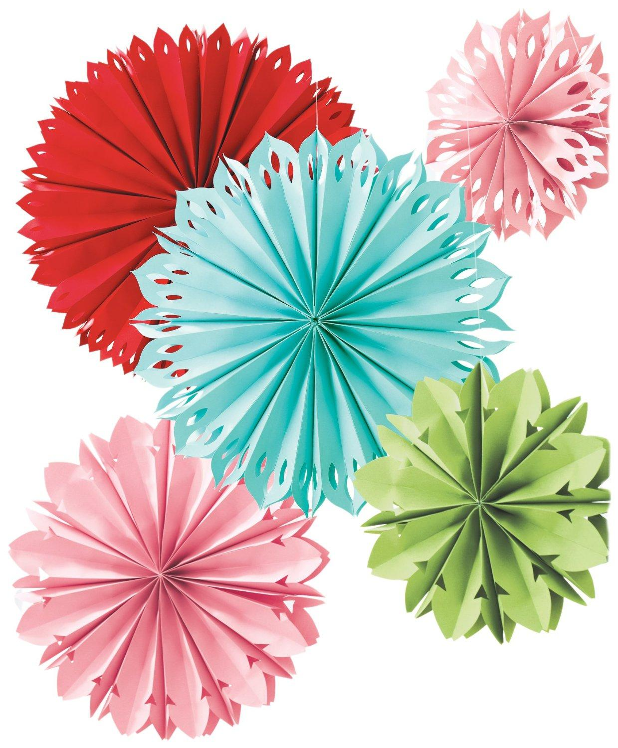 Amazon martha stewart crafts modern festive paper flowers view larger jeuxipadfo Gallery