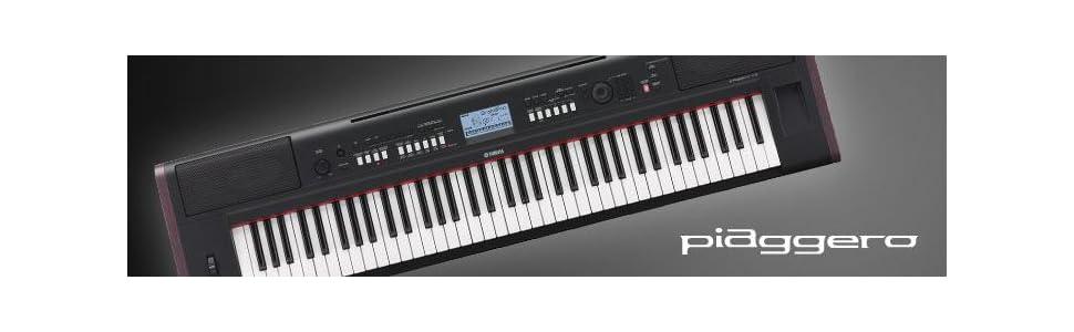 Yamaha np32 76 key lightweight portable for Yamaha keyboard amazon