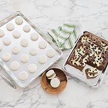 Amazon Com Nordic Ware 4 Piece Bakers Half And Quarter