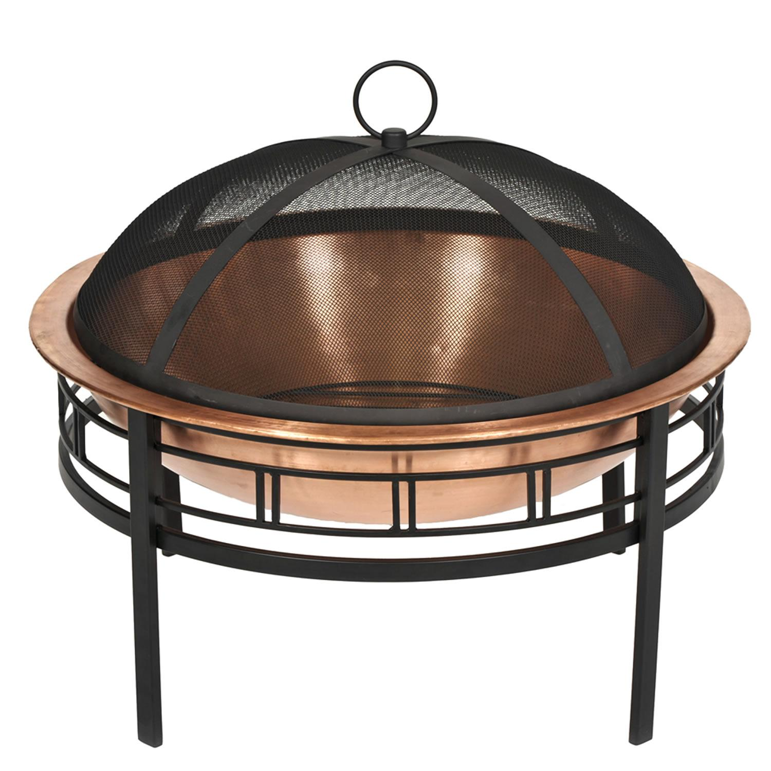 Amazon Com Cobraco Sh101 Hand Hammered 100 Copper Fire