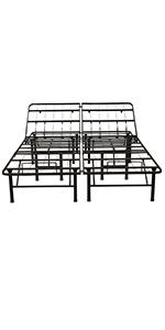 adjustable metal bed framemattress foundationbox spring