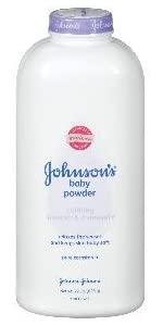JOHNSON'S baby pure cornstarch powder with calming lavender & chamomile