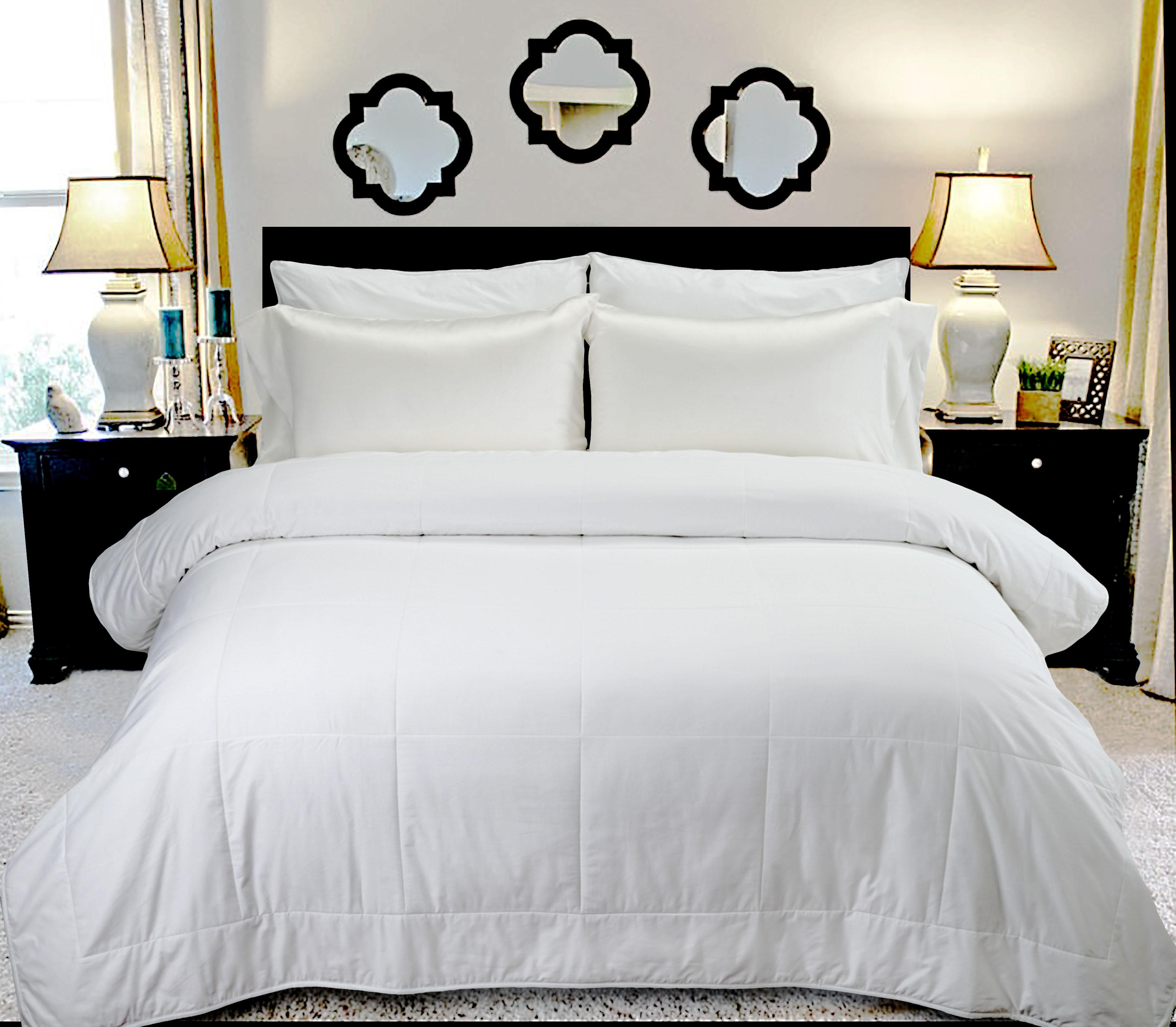 black silk bed set