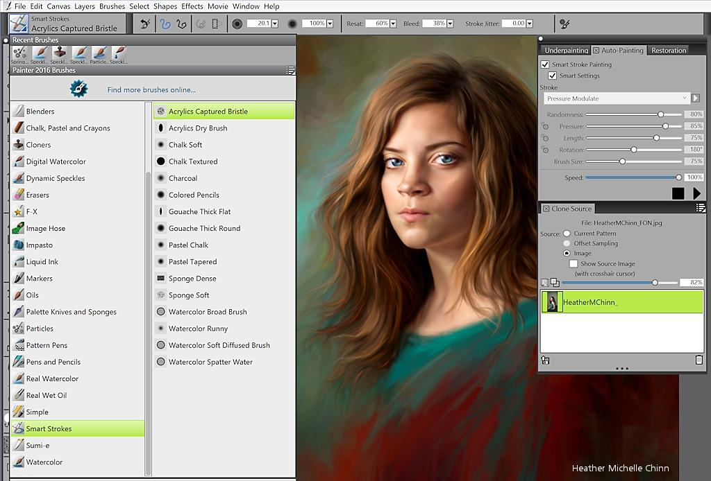 Photoshop Speed Painting Change Color Palette