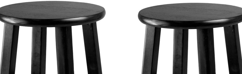 Amazon Com Winsome 24 Inch Square Leg Counter Stool