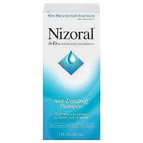 NIZORAL A-D Anti-Dandruff Shampoo, 7 FL OZ