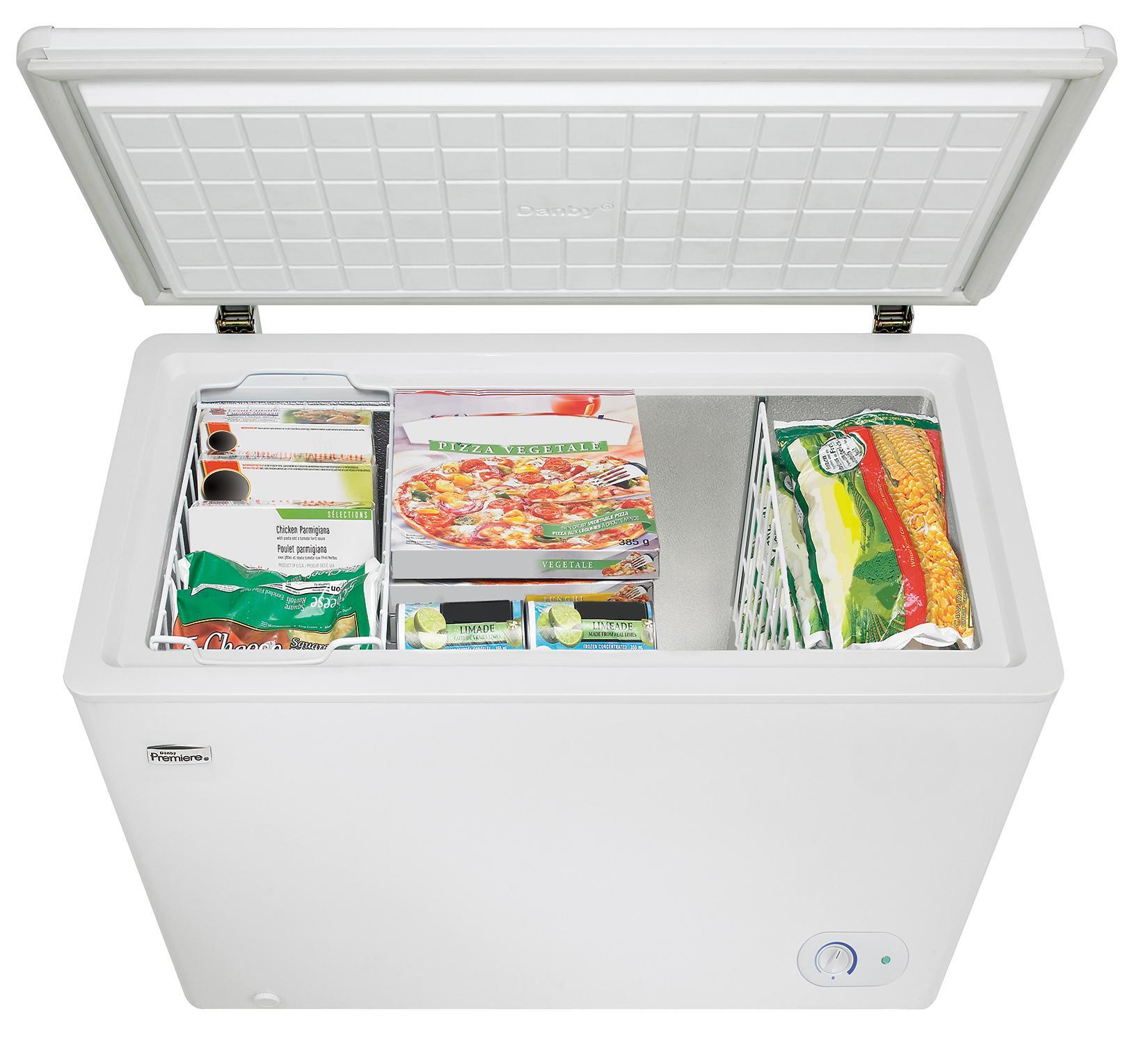 amazon com danby dcf072a2wdb1 chest freezer 7 2 cubic feet