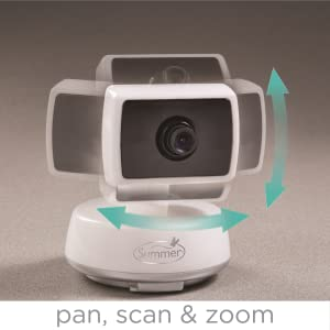 summer infant baby touch 3 5 pan scan zoom video baby monitor baby. Black Bedroom Furniture Sets. Home Design Ideas