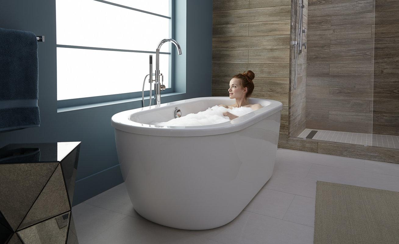 american standard m cadet freestanding tub arctic  - from the manufacturer