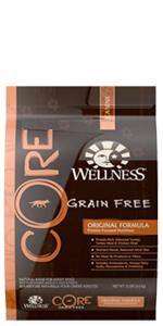 Wellness, CORE, dog food, grain free, grain-free, no corn, no soy, no wheat gluten, no fillers