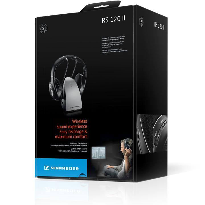 Amazon.com: Sennheiser RS120 On-Ear Wireless RF Headphones
